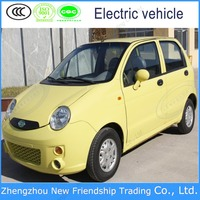 Hot sale mini smart electric car with 4 seats electric car passenger tricycle for wholesale
