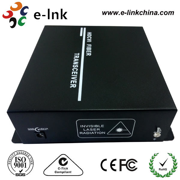 HOT-SALE 2-CH HDCVI Video+ 1Ch Bidirectional Audio+ RS485 Data BNC to Fiber Optical Video Converter
