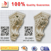 High quality polyurethane moulding 302461 corbels