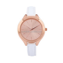 colorful leather quartz custom logo brand numeral dial wrist watch,watch arabic number for wholesale