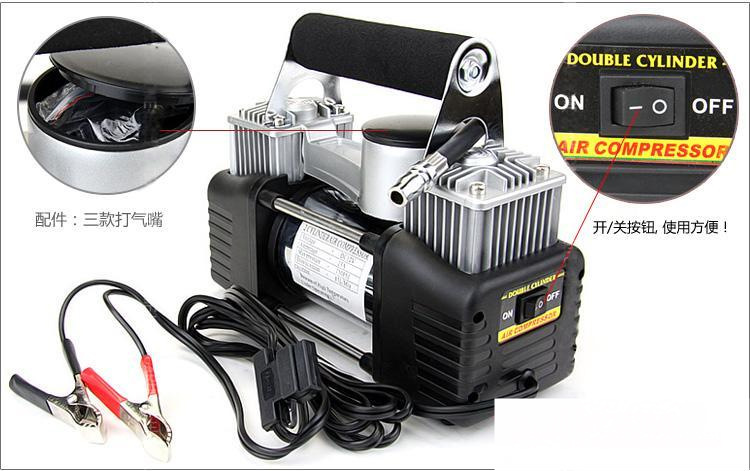 12v Car Air Compressor 4x4 Tyre Deflator 4wd Inflator Kit Portable 150PSI