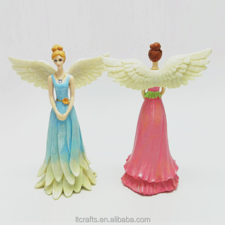 Resin Material and Europe Regional Feature fairy figurines miniature
