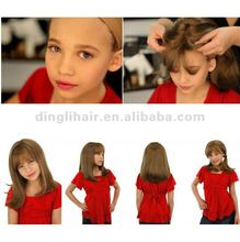 fashionable lace wigs for children small heads braided wigs blonde children wig