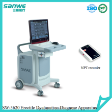 SW-3620 Male Sexual Dysfunction Treatment Instrument,Nocturnal Penile Tumescence, Andrology Male Sexual Machine