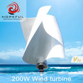 solar wind generator china cheap home wind turbine 200w