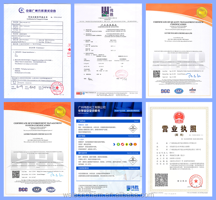 OEM label car wash cleaning chemicals