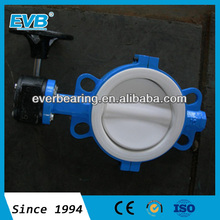 rubber coating disc butterfly valve