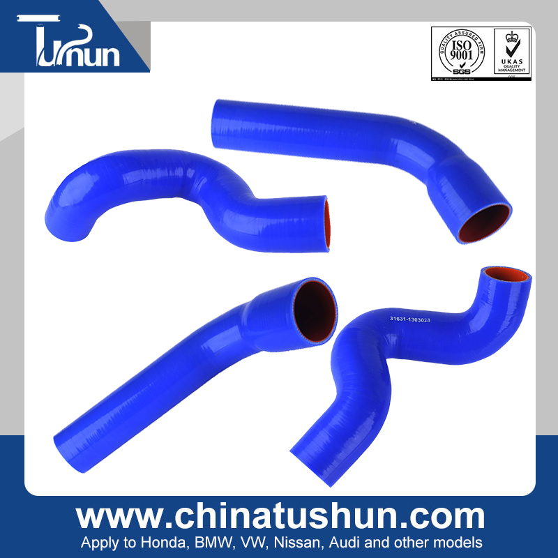 Discount clear radiator hose high temperature silicone hose / tube