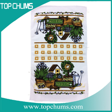 Quality cheap microfiber printed printed tea towel,cheap microifber tea towel/kichen towel/washing cloth,printed grid tea towel