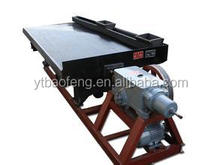 Gravity dressing equipment gold mining machine shaking table with low price