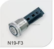 CHAUHUA LED flash buzzer(GQ19B-SM series,16mm,CE,ROHS,REACH)