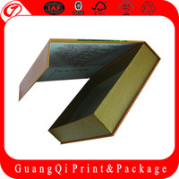 silver cardboard box for fruit and vegetable for electronic packaging