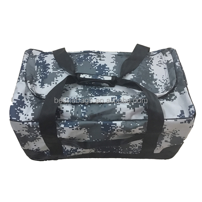 Multifunctional Large Camouflage Tactical Military Travel Duffle Bag