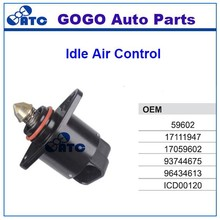 High Quality Idle Air Control Valve for Chevrolet DAEWOO OEM 59602 17111947 17059602 93744675 96434613 ICD00120