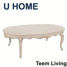 Teem Furniture animal coffee table wooden round tea table coffee table salon furniture H526