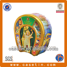 Chinese wholesales decorative food packaging tins uk