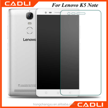 new hot sales anti-scratch 0.33mm tempered glass screen protector guard for Lenovo K5 note