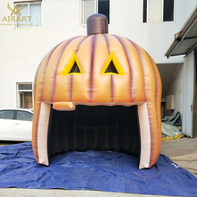 Halloween advertisements decorate inflatable products inflatable halloween pumpkin tent