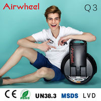 2016 airwheel beach cruiser electric bike Q3 Monocycle scooter cycle board