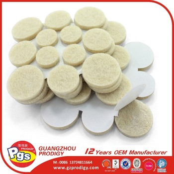 1000g self adhesive chair leg floor protection felt pads