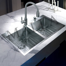 16 Gauge 304 Stainless Steel Kitchen Sink For Hotel