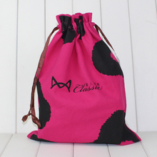 cotton drawstring bag, canvas bag for gift packing
