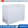 Single door top open dc solar power refrigerator chest freezer