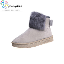 cheap with plush nice fur winter boots