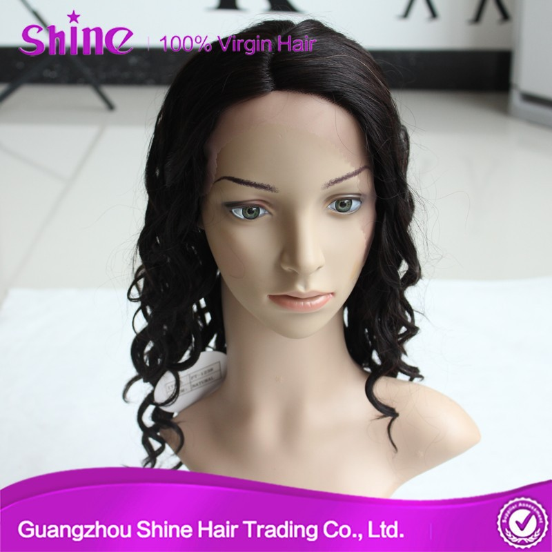 100% human hair wholesale curly wig for black women curly wig