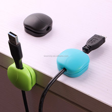New Product Boomray ABS Flower size Wire Cable fixed plastic wall cable clip