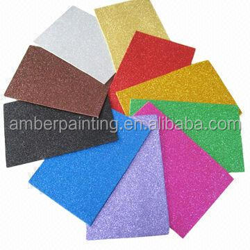 Glitter eva foam sheet and roll for toy and craft
