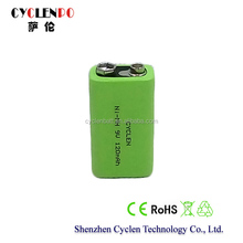 Battery powered mini fridge 9V 120mah NI-MH battery case