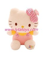 Lovely Hello Kitty Cat With Pink Dress For Child Girls