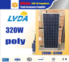 LVDA solar panel factory directly sale gurantee quality 2016 Top sale 320w chinese poly solar panels for sale