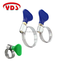 Stainless garden hose pipe clamp hydraulic hose clamp