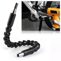 Car Tire Repair Tools Black 295mm Fleible Shaft Bits Etention Screwdriver Bit Holder Connect Link For Electronics Drill