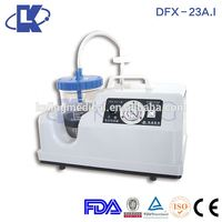 Alibaba China medical supplier best performance two bottles portable suction machine in market