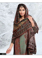 Ladies Winter Fancy Salwar Kameez