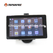 7 inch car truck gps navigation navigator ce6.0 mtk ddr 256m 8gb fm avin bluetooth free gps map