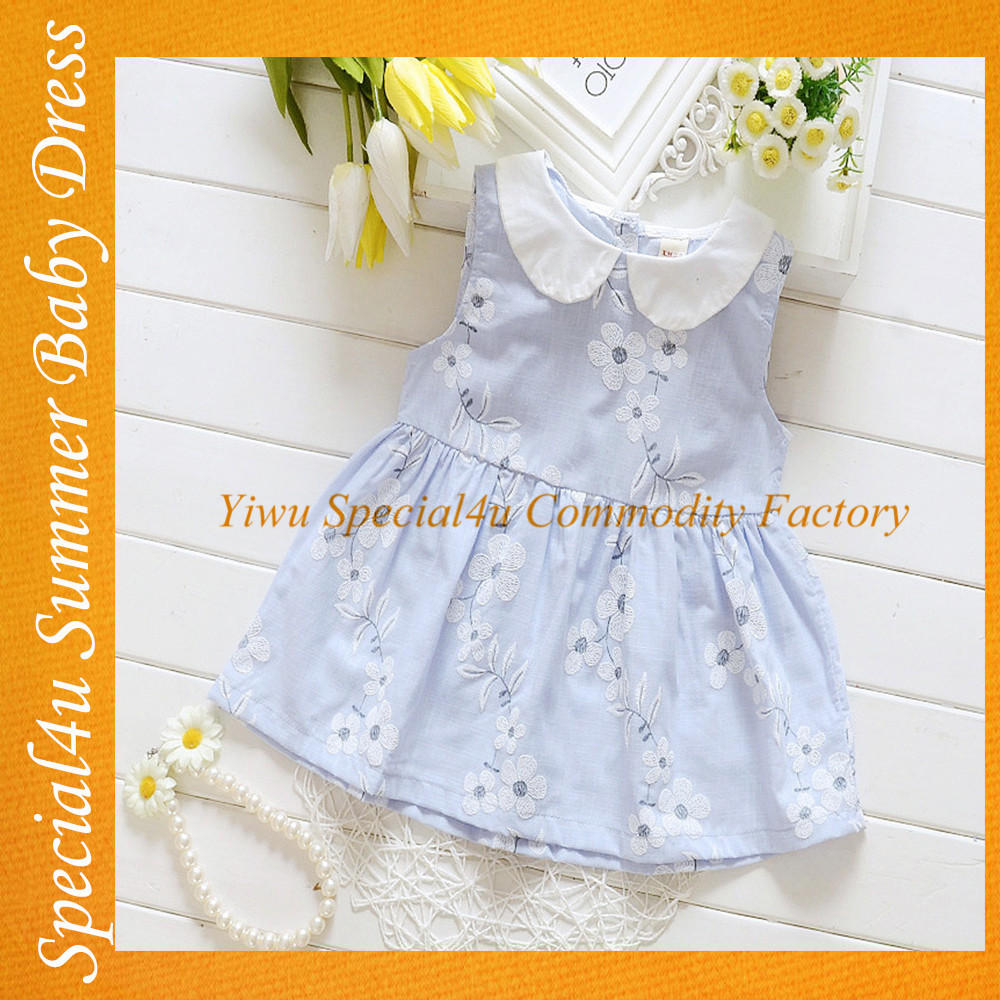 2016 New Model Children Custom Clothing Child Embroidered Girl dress SHLY-1211