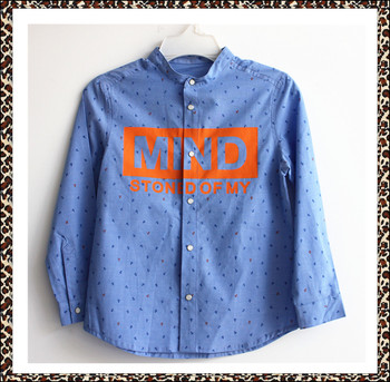 New design 2016 high quality shirts for boys