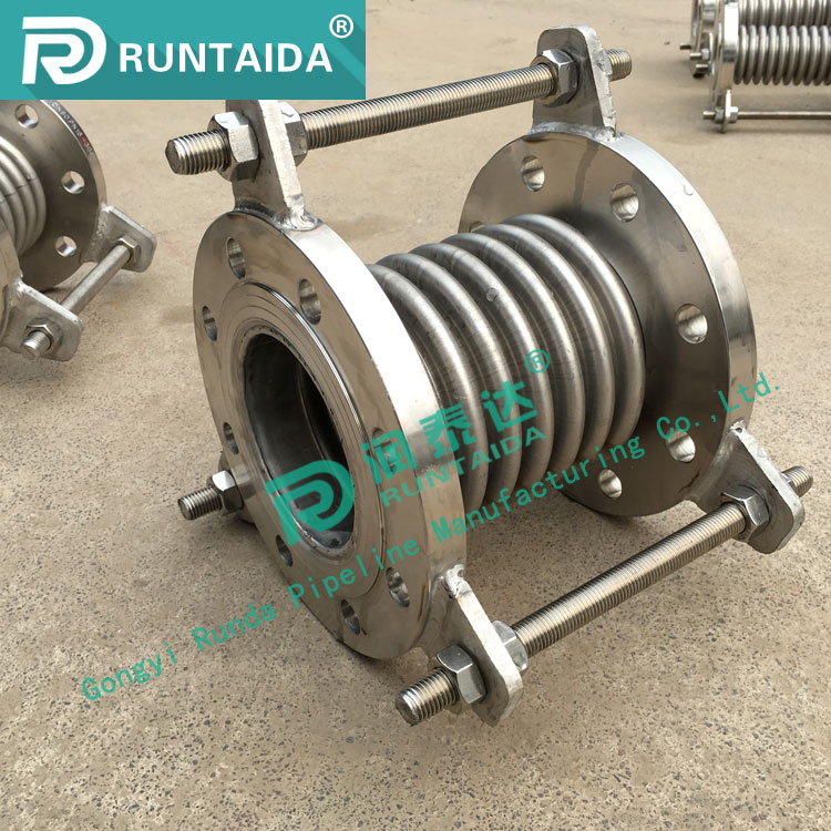 High quality 304 stainless steel reinforced bellow expansion joint