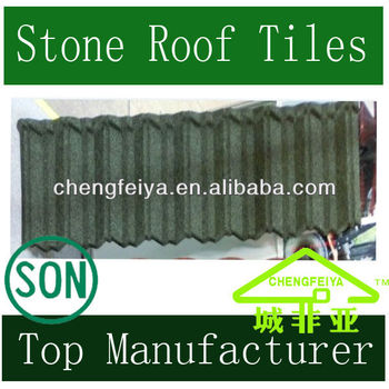 Colorful Stone Villa Roofing Sheet