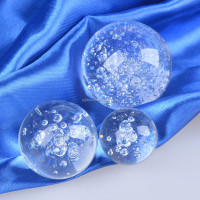Home Decoration 8cm Crystal Bubble Ball