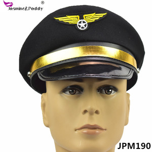 Pilot cap captain hat uniform cap costume party hat