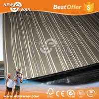 cheap uv high glossy panel pvc laminated mdf board