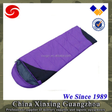 Purple heated wholesale sleeping bags adult for pilot