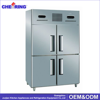 Four Door Commercial Refrigerator With Price Commercial
