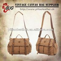 2014 hot sell Vintage Canvas Casual Messenger Bag