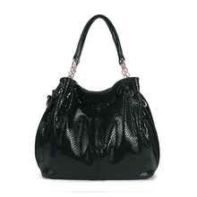1HD0172 China Direct Sale Free Custom Logo Ladies Patent Leather Handbags In Pakistan
